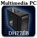 ECS DH77EB Multimedia PC