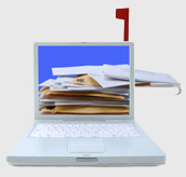 Mail Piling Up In Laptop